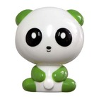 Светильник ночник Feron FN1166 панда зеленый