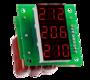 Вольтметр цифровой Вм-14 (3х220В АС) трехфазный без корпуса