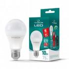 LED лампа TITANUM A60 10W E27 4100K 220V