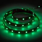 Лента LED LS603/LED-RL 60SMD(3528)/m 4.8W/m 12V 5m*8*0.22mm зеленый на белом (блистер)