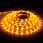 Лента LED LS604/LED-RL 60SMD(3528)/m 4.8W/m 12V 5m*8*0.22mm желтый на беломIP65 (блистер)