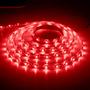 Лента LED LS604/LED-RL 60SMD(3528)/m 4.8W/m 12V 5m*8*0.22mm красный на белом IP65 (блистер)