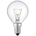 Лампа PHILIPS P-45 Е14 40W прозрачная шар