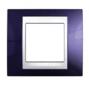 Рамка 1 пост индиго / белый MGU6.002.842