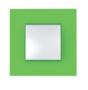 Рамка 1 пост зеленый универсальная MGU4.702.28