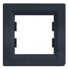 Рамка 1 пост антрацит горизонтальный EPH5800171