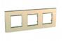 Рамка 3 поста медный универсальная MGU6.706.56