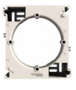Коробка для накладного монтажа одинарная слоновая кость EPH6100123