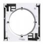 Коробка для накладного монтажа одинарная белая EPH6100121