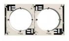 Коробка для накладного монтажа наборная слоновая кость EPH6100223