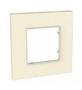 Рамка 1 пост серо-жемчужный универсальная MGU4.702.35