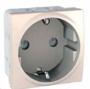 Механизм розетки 2К+З 16А 2-мод. слоновая кость MGU3.036.25