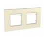 Рамка 2 поста камень универсальная MGU2.704.16