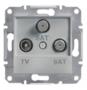 Механизм розетки TV/SAT/SAT конечной алюминий EPH3600161