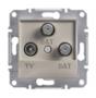 Механизм розетки TV/SAT/SAT конечной бронза EPH3600169