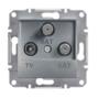 Механизм розетки TV/SAT/SAT конечной сталь EPH3600162