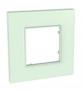 Рамка 1 пост стекло универсальная MGU2.702.17