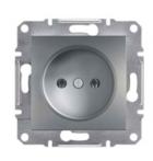 Механизм розетки (2К) 16A сталь EPH3000162