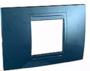 Рамка 2 поста голубой лед универсальная MGU4.102.54