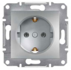 Механизм розетки (2К+З) 16A алюминий EPH2900161