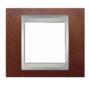 Рамка 1 пост табак/алюминий MGU66.002.0M4