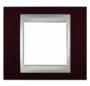 Рамка 1 пост венге/алюминий MGU66.002.0M3
