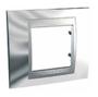 Рамка 1 пост глянцевый хром/алюминий MGU66.002.010