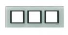 Рамка 3 поста матовое стекло MGU68.006.7C3