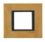 Рамка 1 пост кожа сахара MGU68.002.7P1