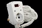 Цифровой одноканальный терморегулятор ТР-1 (установка в розетку) (-55....+125 С; 16 А)
