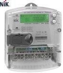 Электросчетчик НИК 2303 АР6Т.1802.МС.11 с реле управл. нагрузкой и радио модулем PLC