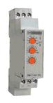 Реле модульное задержки многофункциональное РМ Т 14 1  0,1с.-100 ч.