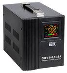 Стабилизатор напряжения СНР1-0-1 кВА электронный переносной ИЭК