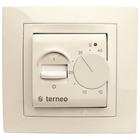 Терморегулятор TERNEO mex слоновая кость